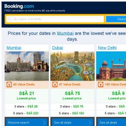[Booking.com] Prices in Mumbai are the lowest we've seen in 2 days!