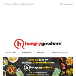 [HungryGoWhere] 1-for-1 Main Course, $1 Daily Promotions, & more Western feasts to indulge in!