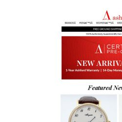 [Ashford] Terrific Certified Pre-Owned Timepieces For You