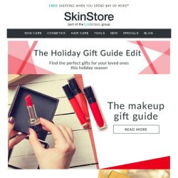 [SkinStore] Our Ultimate Holiday Gift Guide | Gifts Under $30 & $50