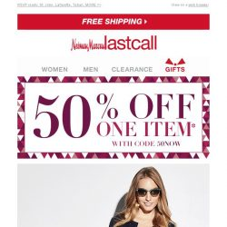 [Last Call] Holiday festivities ahead + 50% off ENDS TODAY!