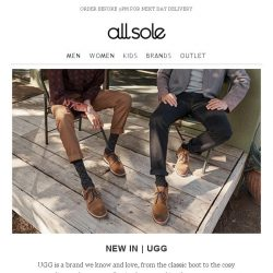 [Allsole] Discover UGG and receive a FREE gift