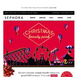 [Sephora] So much ❤ for new festive palettes