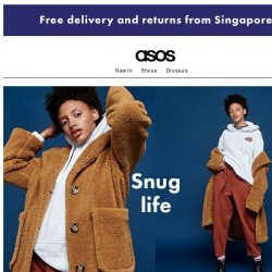 [ASOS] Teddy coats to hibernate in