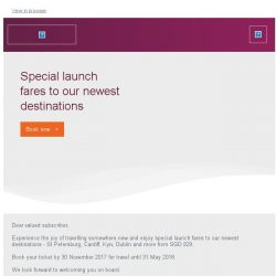 [Qatar] New destination launch fares - from SGD 929