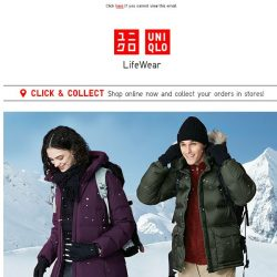 [UNIQLO Singapore] The holidays are coming...
