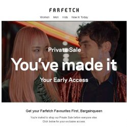 [Farfetch] Exclusive Private Sale for Bargainqueen   7 days only