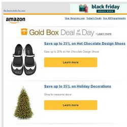 [Amazon] Save up to 25% on Hot Chocolate Design Shoes