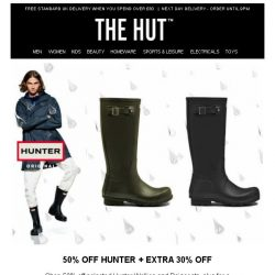 [The Hut] Kick start your weekend with our exclusive offers...