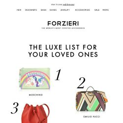 [Forzieri] 12 Festive Favorites: The Ultimate Holiday Gift Guide