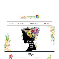 [Floweradvisor] FLOWERPEDIA: What Flower Are You Based On Your Personality?