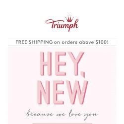 [Triumph] New Items Added To SALE! Because We Love You!