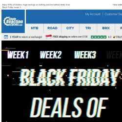 [Chain Reaction Cycles] Deals of The Week!