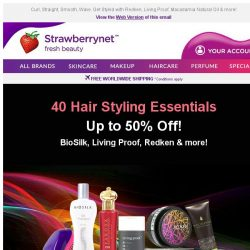 [StrawberryNet] 40 Hair Styling Essentials are on SALE Up to 50% Off!