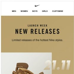 [Nike] Welcome to Launch Week
