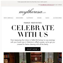 [mytheresa] Festive dressing: look your best for your nearest and dearest
