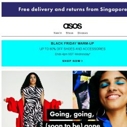 [ASOS] Get it before Black Friday does