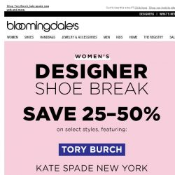 [Bloomingdales] Save 25-50% on Your Favorite Women's Designers