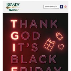 [Brand's] ✴Pssst.. is it Black Friday already?✴ Get exclusive deals and exclusive free gifts with purchase now!