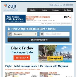 [Zuji] Black Friday sale is here! Save $64 and more!