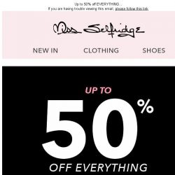 [Miss Selfridge] HAPPY BLACK FRI-YAY!