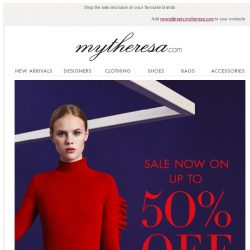 [mytheresa] Sale now on: up to 50% off