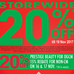 OG: Enjoy 20% OFF Storewide On Regular-Priced Items & Early Black Friday Sale
