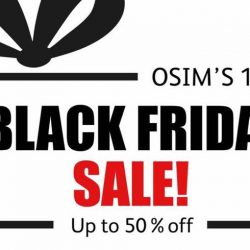 OSIM: Black Friday Online Exclusive Sale with Up to 50% OFF & Free Delivery