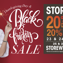 OG Singapore: Black Friday Sale with 20% OFF + 10% OFF Storewide