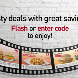 KFC: Save up to $12.80 with Breakfast, Dine-In & Delivery E-Coupons!
