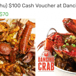 Dancing Crab: Enjoy 30% OFF Seafood Delights on Weekdays