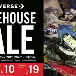 523affafb24 29 Nov - 3 Dec 2017 Converse  Year-End Warehouse Sale 2017 with Footwear