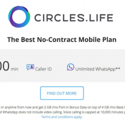 Circles.Life: Promo Code to Get $20 OFF Registrations + 500MB Data Every Month!