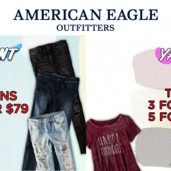 American Eagle Outfitters: Mid-Season Sale with Door Buster Specials on Jeans & Tees