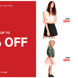 H&M Singapore: Sale Up to 50% OFF at All Stores!