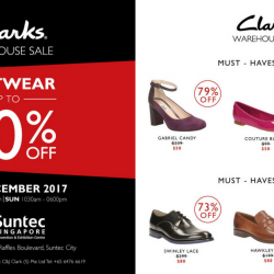 Clarks: Warehouse Sale with Up to 80% OFF Footwear
