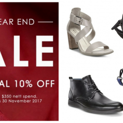 ECCO: Year-End Sale with Additional 10% OFF Your Order Online!