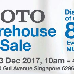 Toto: Warehouse Sale with Up to 80% OFF Toilets, Basins, Faucets & More!