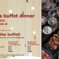 IKEA: Christmas Buffet Dinner on 22 December 2017