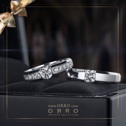 [ORRO Jewellery] This year end, a new chapter awaits… Rings for Him & for Her…www.