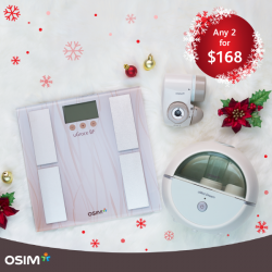 [OSIM FOCUS] Show a little extra concern to your family and friends with these special selections from our Christmas collection.