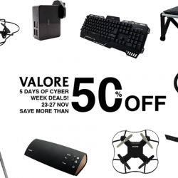 [Valore Challenger] Black Friday & Cyber Monday Sale.