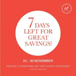[HomesToLife] Last 7 days to bring home great savings on new arrivals!