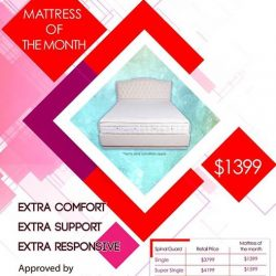 [Englander] MATTRESS OF THE MONTH SALE NOW ON.