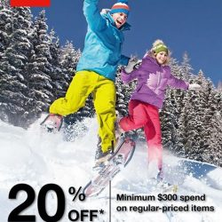 [The North Face] Winter promotion for all you Snow Blazers!