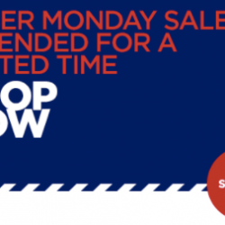 [Aeropostale] OUR CYBER MONDAY SALE HAS BEEN EXTENDED (get up to 75% off everything).