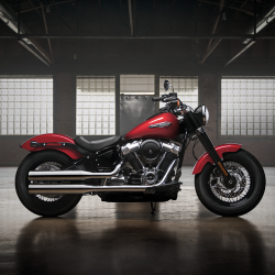 [Harley-Davidson] The 2018 Softail Slim has been recreated to suit your form and style with more power and refined suspension.