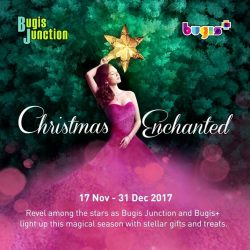 [Bugis Junction] Revel among the stars as Bugis Junction X Bugis+ light up this magical season with stellar gifts and treats.