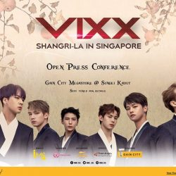 [Gain City] VIXX will be appearing at Gain City Megastore @ Sungei Kadut for their first ever Open Press Conference!