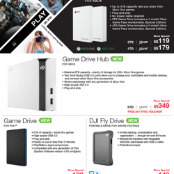 [Newstead Technologies] Get quality storage devices by Seagate with savings at the CEF!
